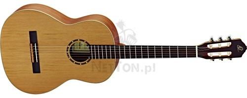 ORTEGA Ortega R122SN gitara klasyczna 4/4 cienki gryf) z pokrowcem 2497