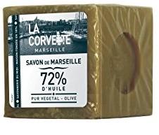 La Corvette Marseille mydło-kostka Savon de Marseille Olive naturalny mydła od 1894R. (500G) 270501