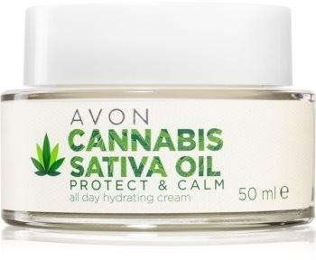 Avon Cannabis Sativa Oil krem nawilżający z olejkiem konopnym 50ml