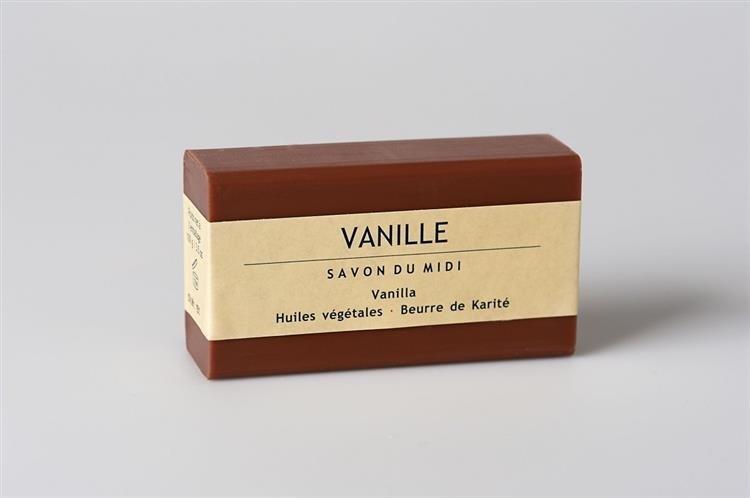 SAVON DU MIDI Mydło z masłem shea VANILLA (Wanilia) 102 110560