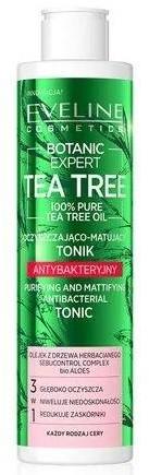 Eveline TEA TREE Antybakteryjny tonik oczyszczająco-matujący 225ml