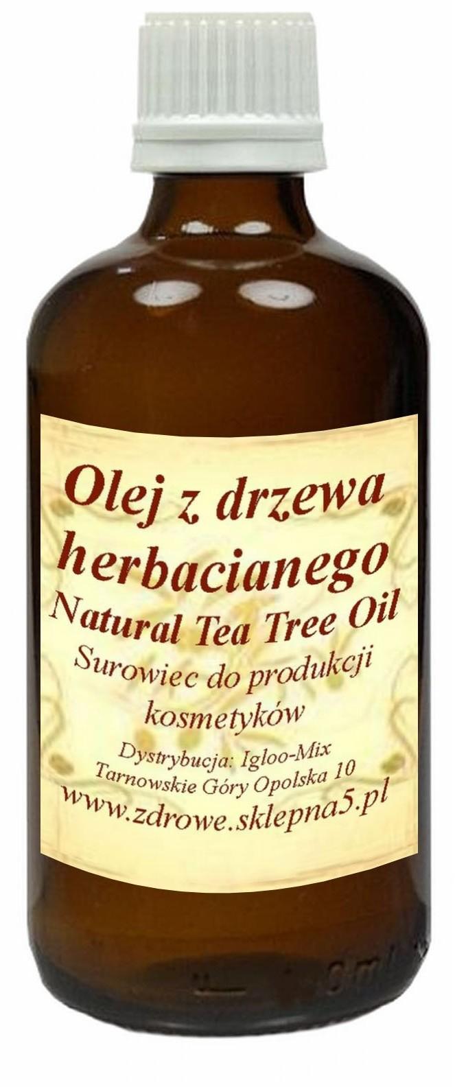 Olej Z Drzewa Herbacianego 50ml - trądzik, łupież