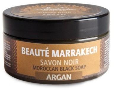 Savon Noir Beaute Marrakech Naturalne marokańskie czarne mydło Argania - Beauté Marrakech Moroccan Black Soap Argan Naturalne marokańskie czarne mydło Argania - Beauté Marrakech Moroccan Black Soap Argan