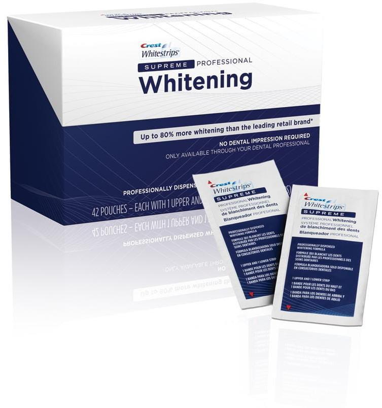Crest Paski wybielające CREST SUPREME Whitening (10 pasków (5 saszetek))