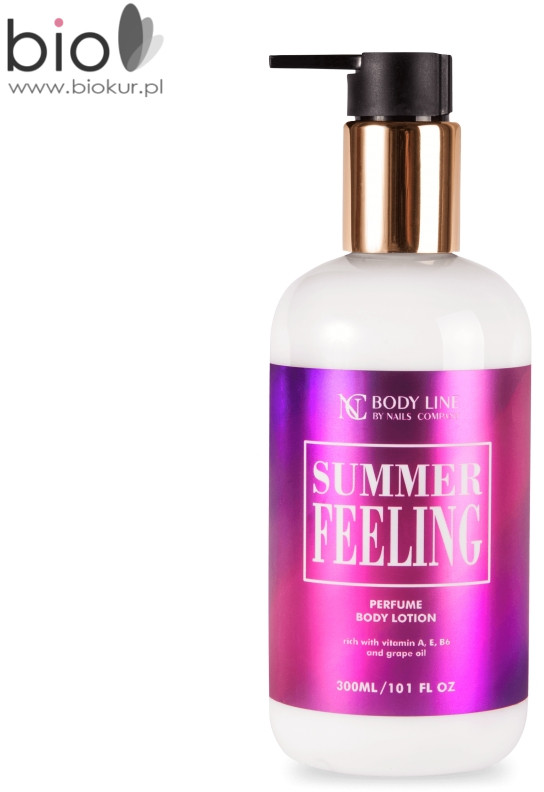 NAILS COMPANY Balsam do ciała Summer Feeling Nails Company zapach dla kobiet 300 ml Summer-Feeling