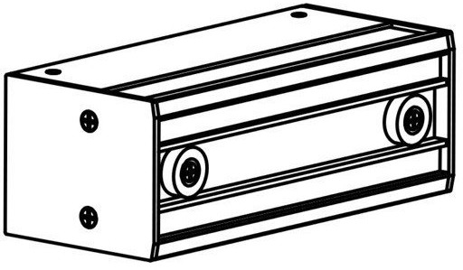 Oxyled OXYLED STENO BODY - srebrny OXYSTENO-BODY-ALU