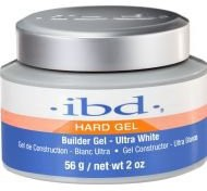 IBD Hard Gel Builder Ultra White 56g