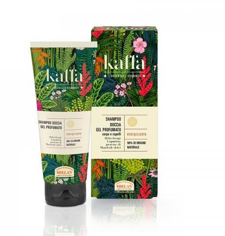 Helan (perfumy, kosmetyki) SZAMPON I ŻEL POD PRYSZNIC 2w1 PERFUMOWANY KAFFA 200 ml -