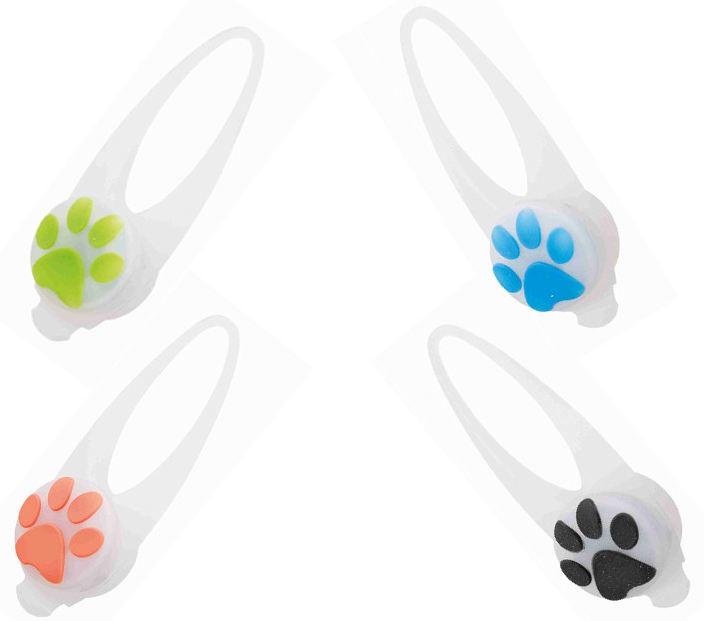 Trixie Silikonowa zawieszka LED Flesher dla psa mix kolorów nr 13440