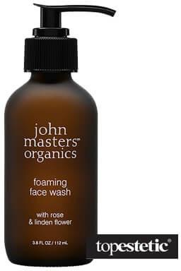 John Masters Organics Foaming Face Wash - Rose & Linden Flower Żel do mycia twarzy z różą i kwiatem lipy 112 ml