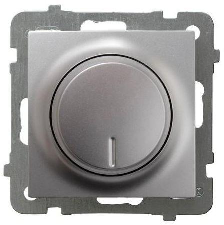 Ospel AS srebrny ściemniacz obrotowy ŁP-8G/m/18 ŁP-8G/m/18
