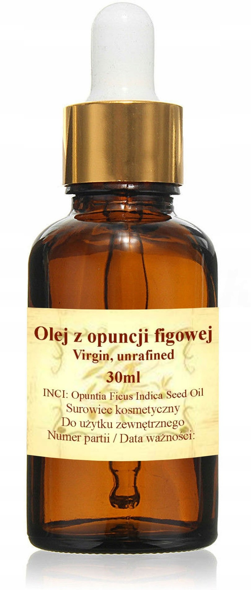 Olej Z Opuncji Figowej 30ml - virgin, unrafined