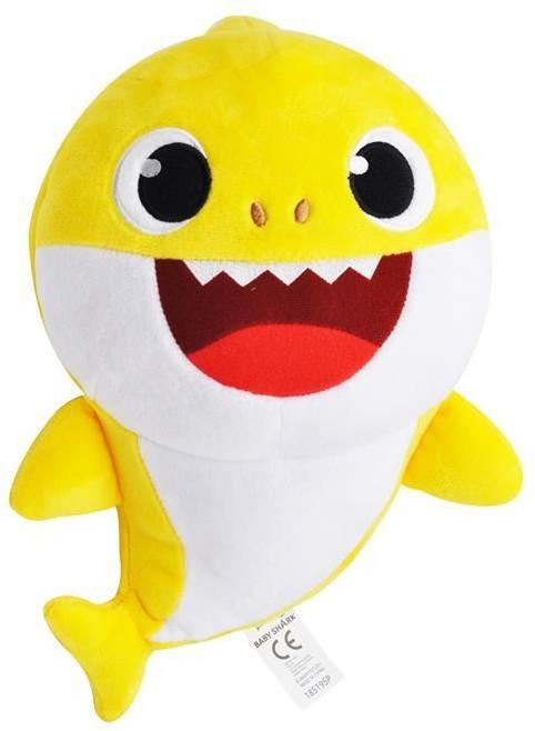 Smart Study Śpiewająca maskotka-pacynka. Kontrola tempa piosenki. Baby Shark, żółta