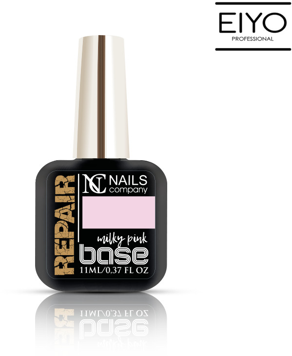 NAILS COMPANY NOWOŚĆ! Repair Base Milky Pink Nails Company - 11 ml