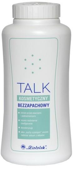 Ziołolek Ziołolek talk kosmetyczny bezzapachowy 100 g NN-KLI-B100-005
