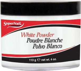 SuperNail Puder akrylowy White Powder - biały - 113g export-3473-0