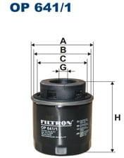 Filtron Filtr oleju OP 641/2