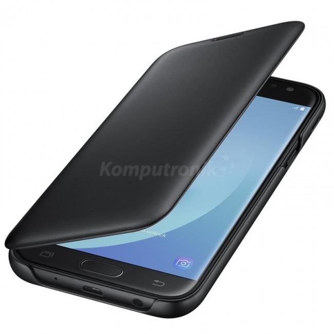 Samsung Wallet Cover do Galaxy J5 2017 czarny (EF-WJ530CBEGWW)
