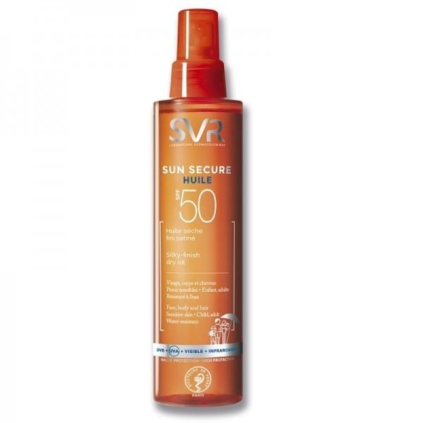 SVR LAB Sun Secure SPF 50 suchy olejek satynowe wykończenie 200 ml 7073319