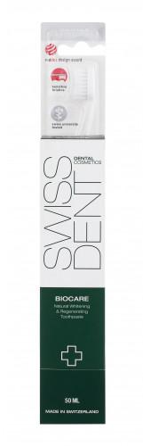 Swissdent Biocare Teeth & Gums zestaw Pasta do zębów Biocare 50 ml + Szczoteczka do zębów Profi Extra Soft 1 szt unisex