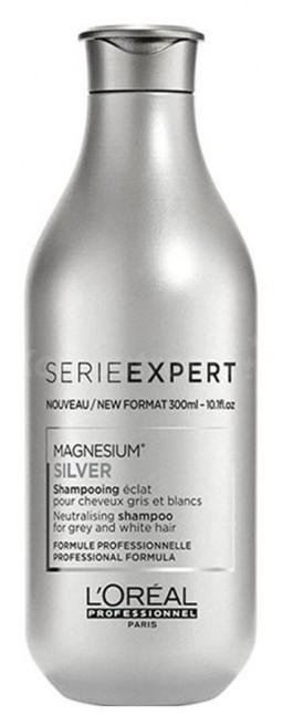 Loreal Professionnel Série Expert Silver srebrny szampon neutralizujący żółtawe odcienie 300 ml