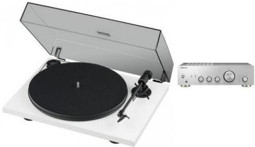 Pioneer A-10AE S + PRO-JECT PRIMARY E biały