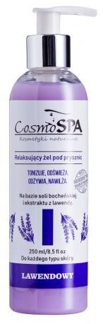 CosmoSPA ŻEL POD PRYSZNIC EKO LAWENDOWY, 250 ML
