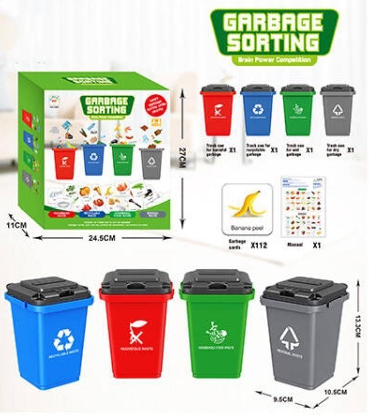 Icom segregowanie odpadów do nauki angielskiego