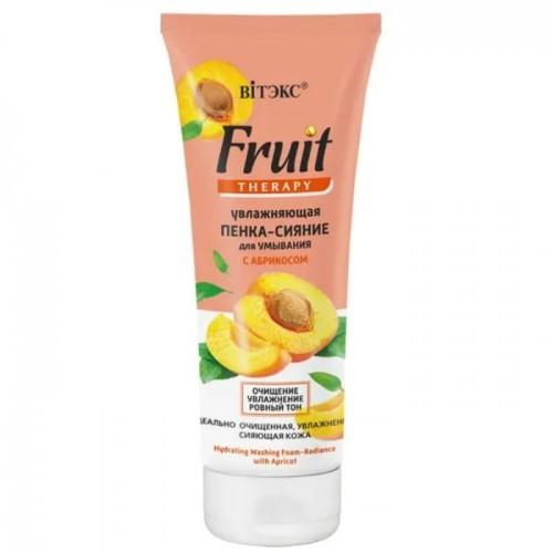 Belita&Witeks Nawilżająca Oczyszczająca Pianka Do Twarzy Z Morelą 200 Ml Fruit Therapy