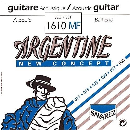 Savarez pojedynczy sznur do gitary akustycznej argentyńskiej D4-1214MF z kulką końcówką 668715
