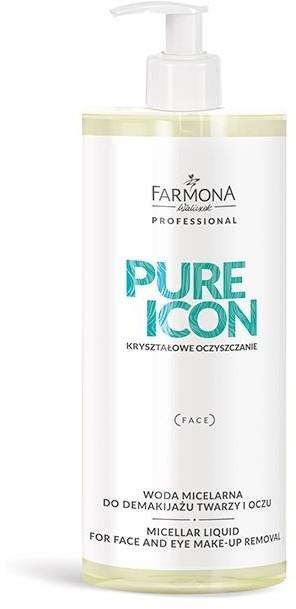 Farmona Professional PURE ICON Woda Micelarna Do Demakijażu Twarzy i Oczu