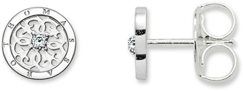 Thomas Sabo Glam & Soul H1760-051-14 kolczyki damskie, pozłacane srebro, przezroczyste cyrkonie H1760-051-14