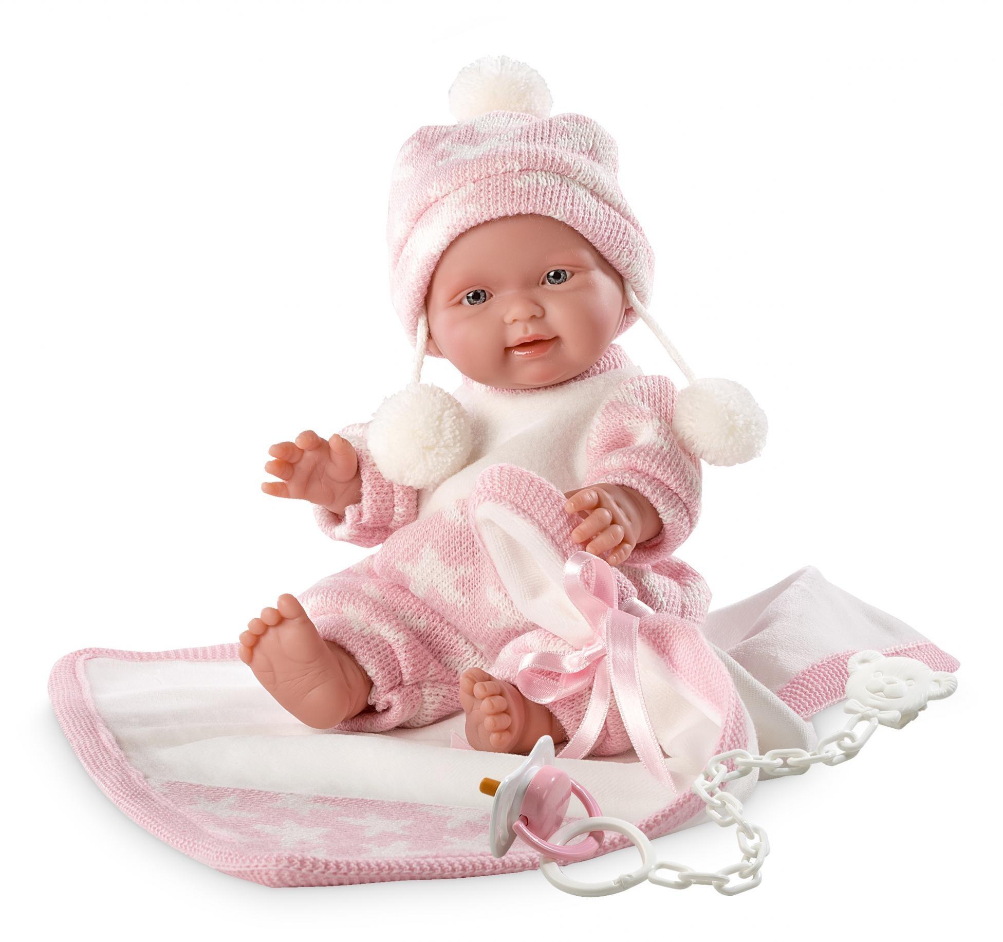 Llorens Lalka New Born dziewczynka 26270