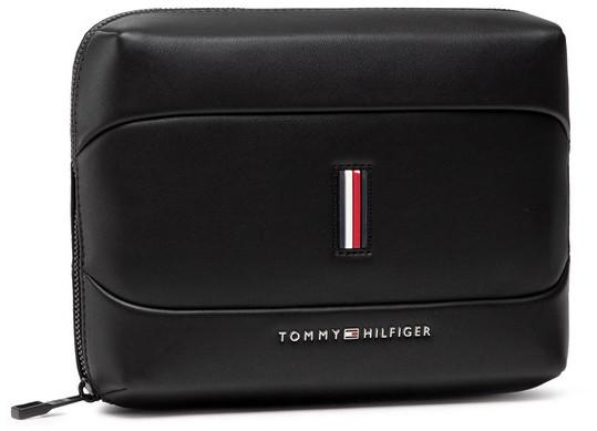 TOMMY HILFIGER Kosmetyczka Th Metro Tech Pouch AM0AM07299 Czarny