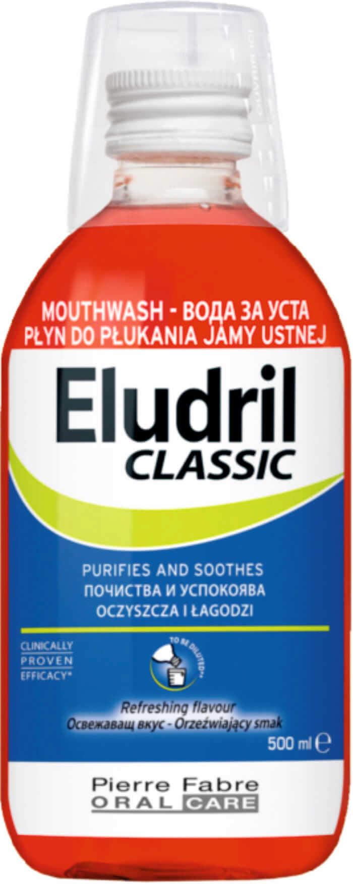 Eludrilclassic płyn d/jamy ustnej 500 ml