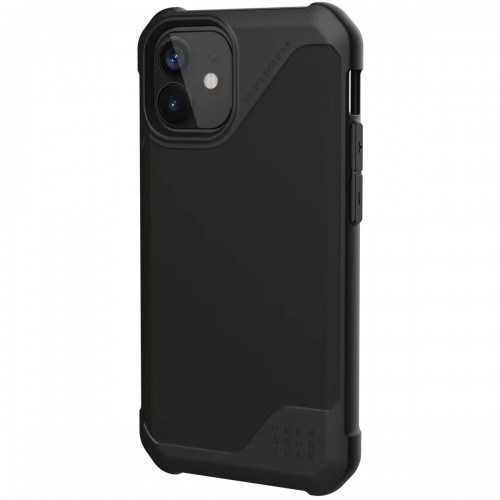 Gear Urban Armor Etui Urban Armor Metropolis LT SATN iPhone 12 Pro Max, czarne 812451037340