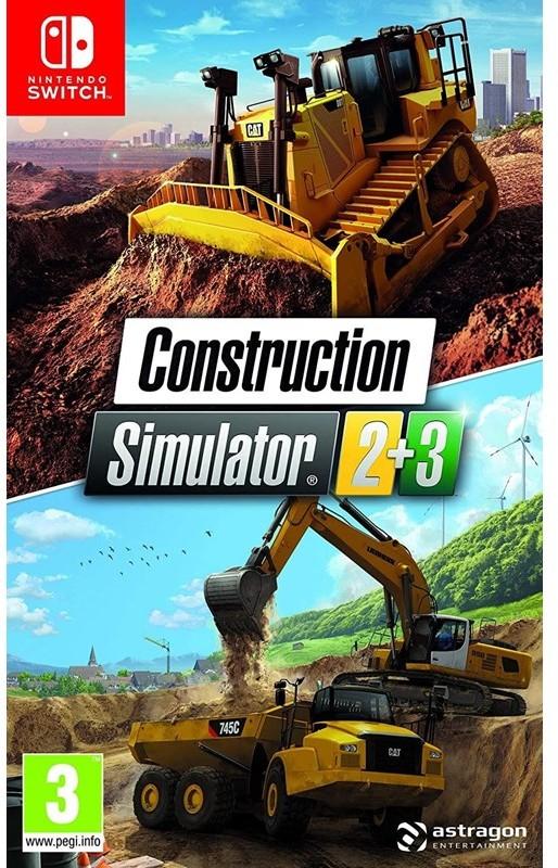 Construction Simulator 2 + 3 (GRA NINTENDO SWITCH)