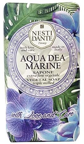 NESTI DANTE Florence Italy: with Love and Care Aqua DEA Marine mydła (250 G) ND1354106
