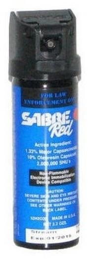 SABRE Security Equipment Corporation Gaz pieprzowy 52H2O20 STREAM RMG 52H2O20