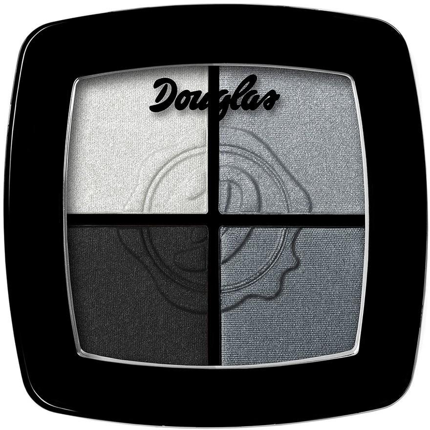 Douglas Cień do powiek Make Up Quattro Be Smockey Black 9.6 g