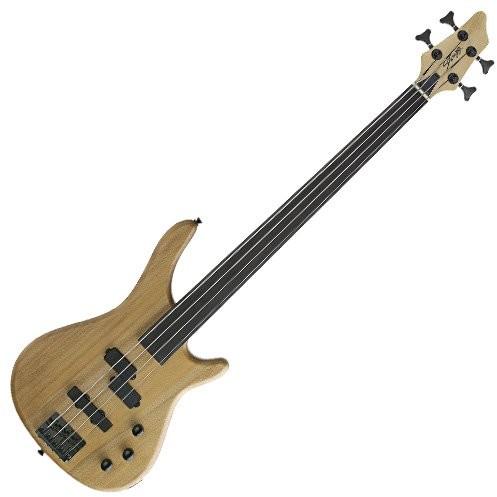 Stagg BC300FL-NS Fusion Fretless elektryczna gitara basowa naturalna BC300FL-NS