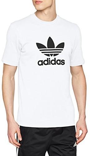 Adidas trefoil T-Shirt męski biały, XS 42 CW0710