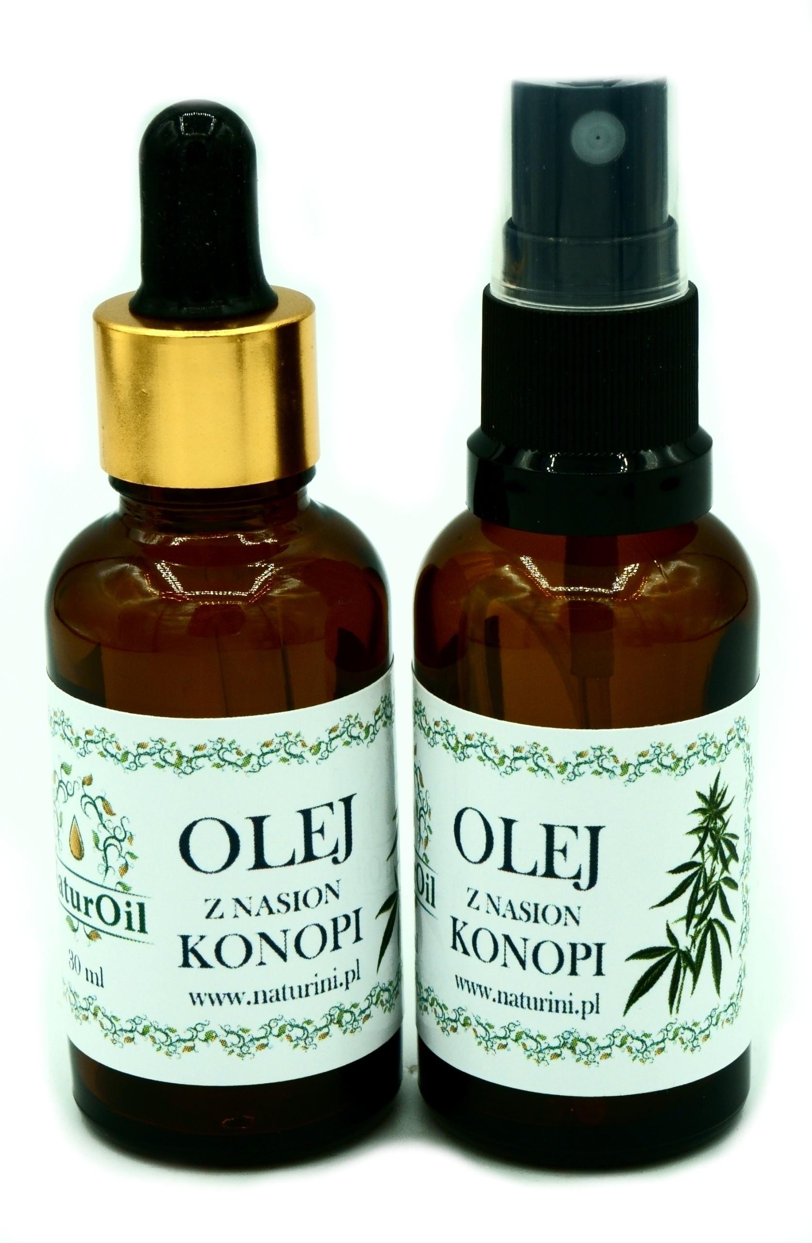 Olej z konopi indyjskiej Cannabis 30ml NaturOil