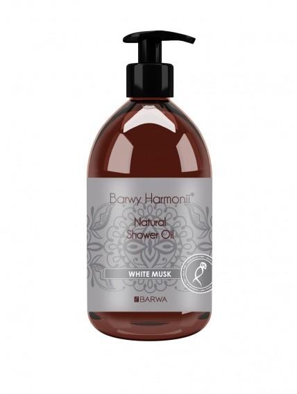 Barwa Olejek pod prysznic Białe piżmo - Harmony Oil Shower Olejek pod prysznic Białe piżmo - Harmony Oil Shower