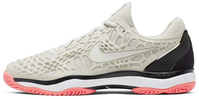 Nike Męskie buty do tenisa na twarde korty NikeCourt Zoom Cage 3 - Kremowy 918193-009