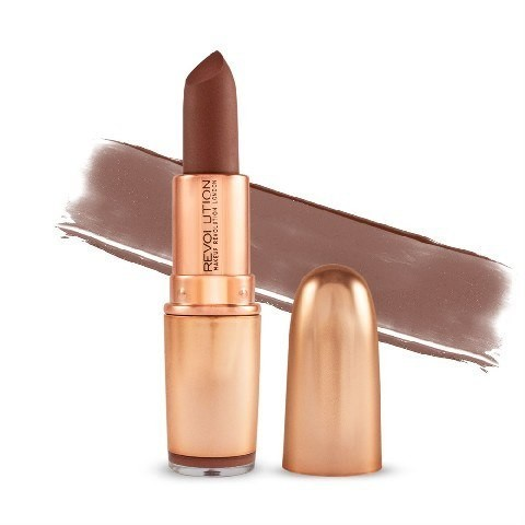 Revolution MAKE UP Makeup Iconic Matte Nude Lipstick Pomadka do ust matowa Inclination 1szt