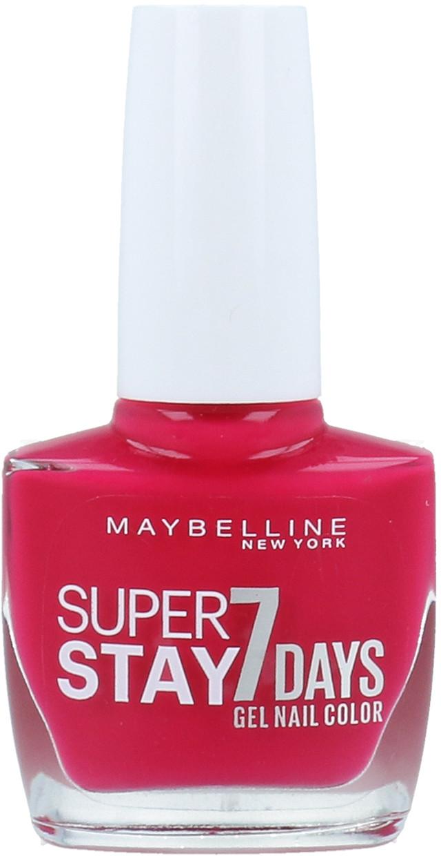 Maybelline SuperStay 7 Days Gel Nail Color Lakier Do Paznokci 916 Ripe Fuschia