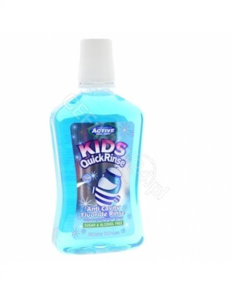 Płyn do ust Active Kids Quick z Fluorem 500 ml Beauty Formulas