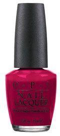 O.P.I Nail Lacquer lakier do paznokci Strawberry Margarita/Jasna Fuksja NLM23 15ml