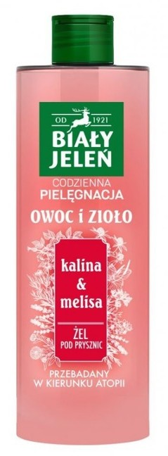 Pollena Żel pod prysznic Kalina&Melisa 400ml 38593-uniw